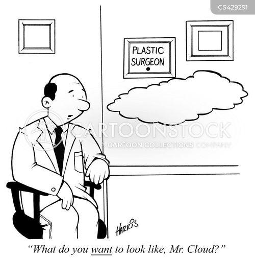 cloudwatching cartoon