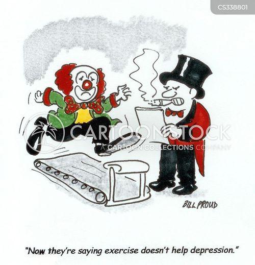 well-being cartoon