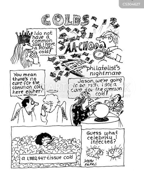 common colds cartoon