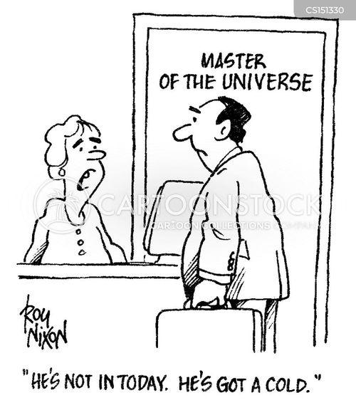 self-aggrandizement cartoon
