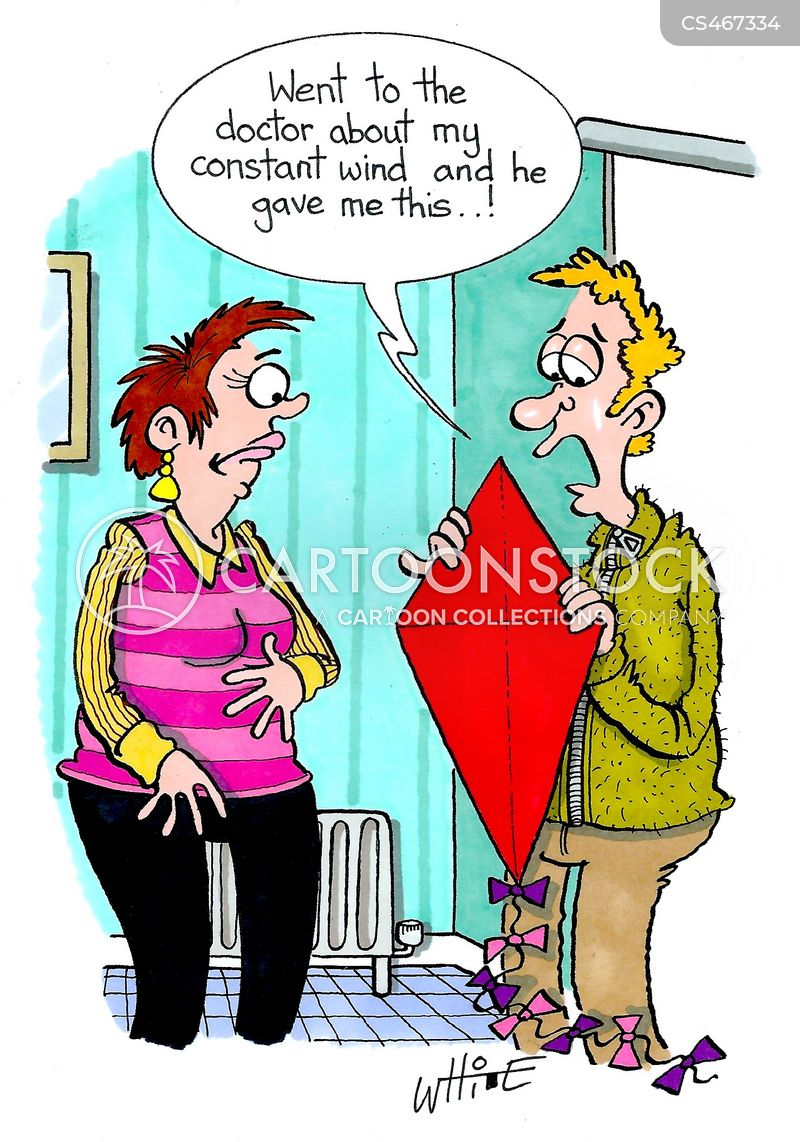stomach issues cartoon