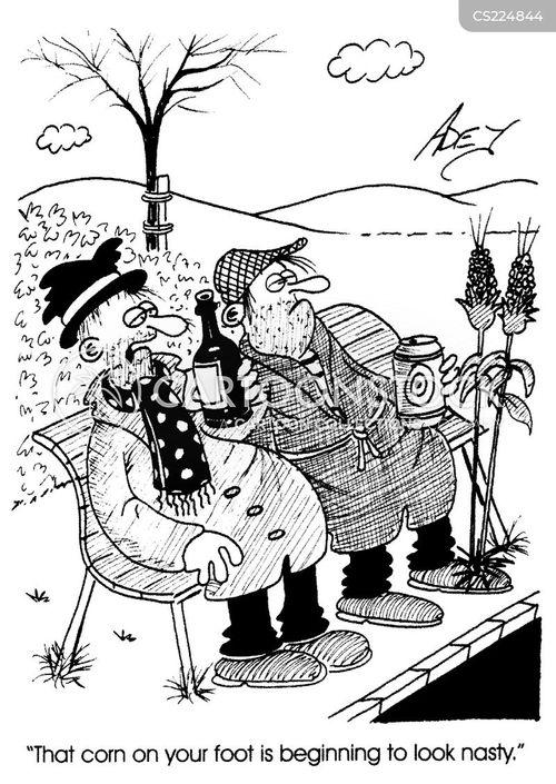 wart cartoon