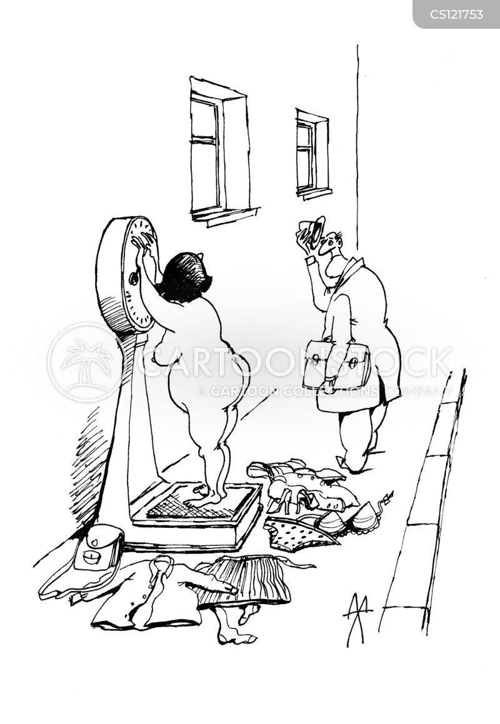 corpulence cartoon