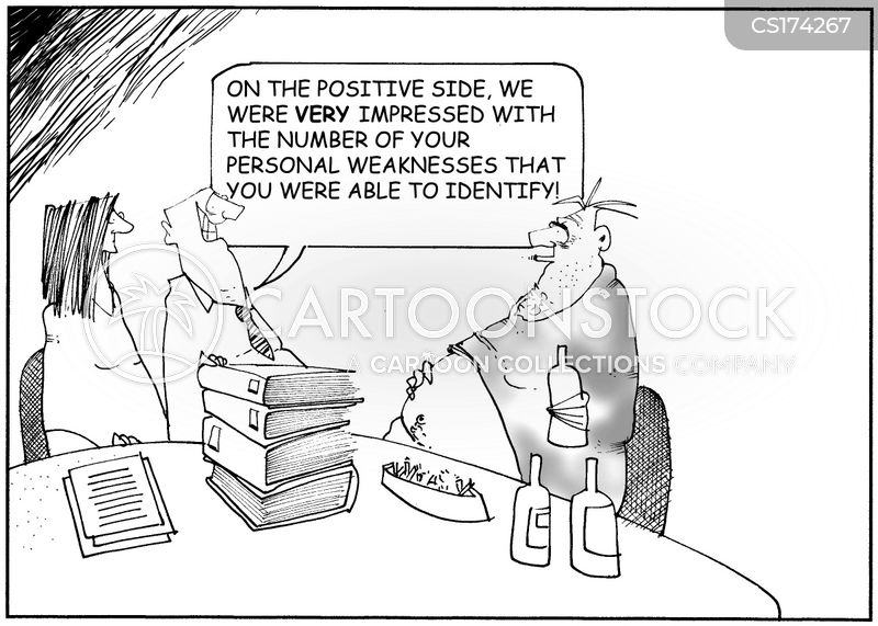 personal issues cartoon