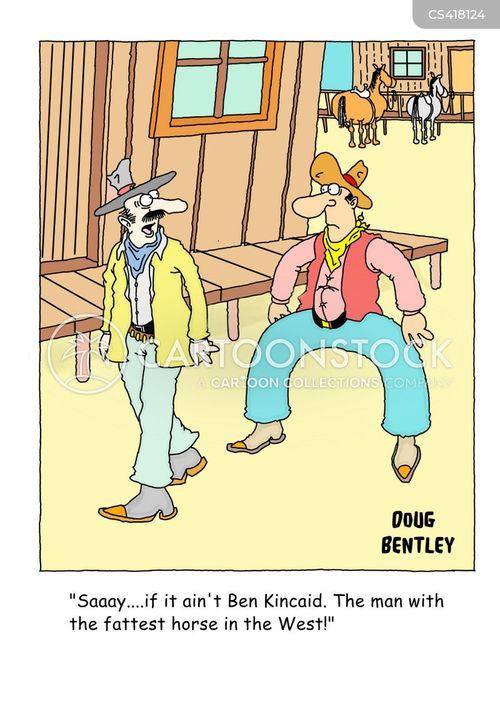 saddle sore cartoon