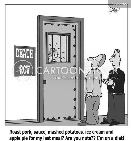 dead man walking cartoon