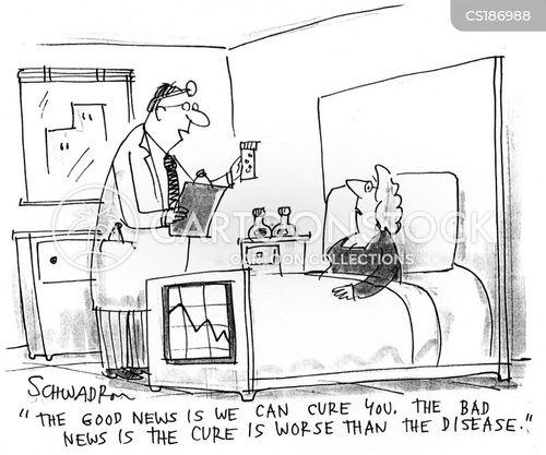 bedridden cartoon