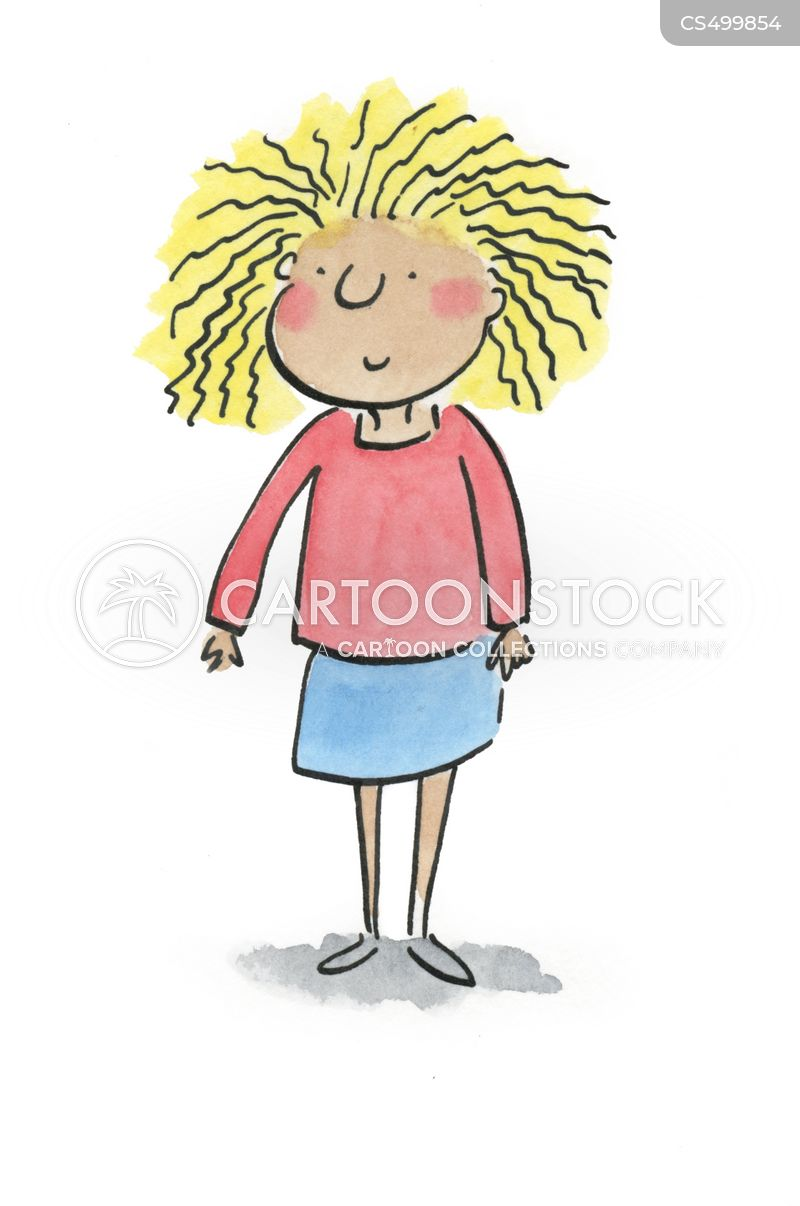 Frizzy Hair Cartoons And Comics Funny Pictures From Cartoonstock