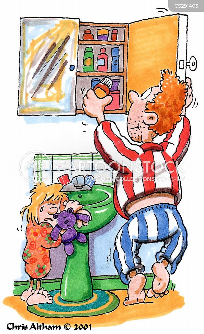 Bathroom Cabinets Cartoons And Comics Funny Pictures From Cartoonstock