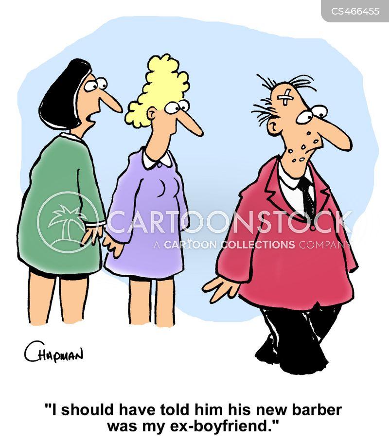 hair-dresser cartoon