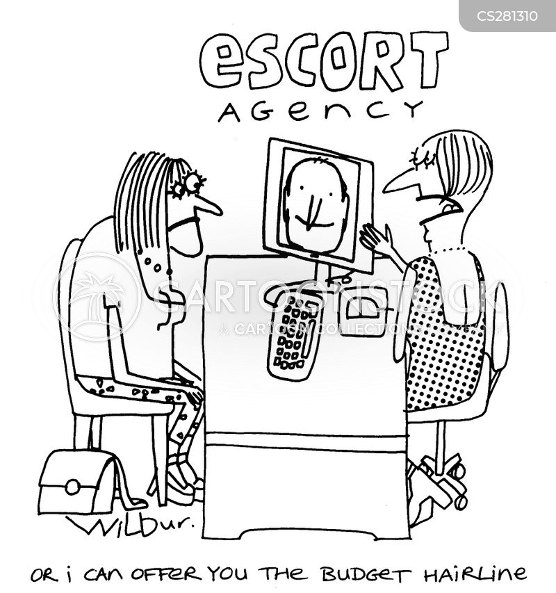 dating online cartoon