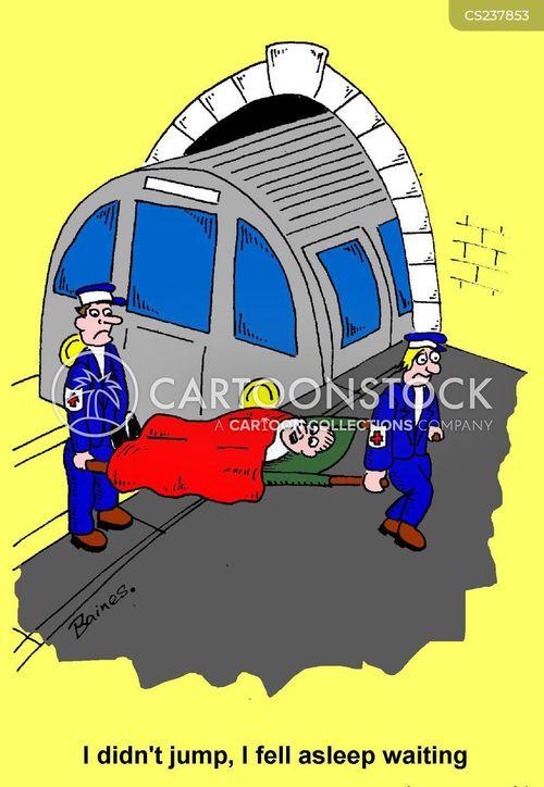 london transport cartoon