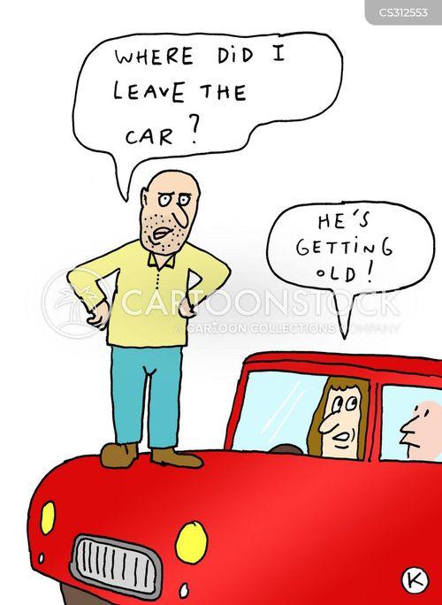 short term memory cartoon
