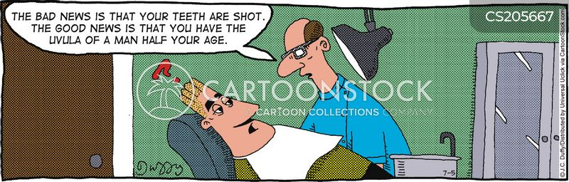 broken teeth cartoon