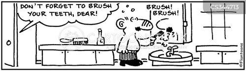 dental patient cartoon