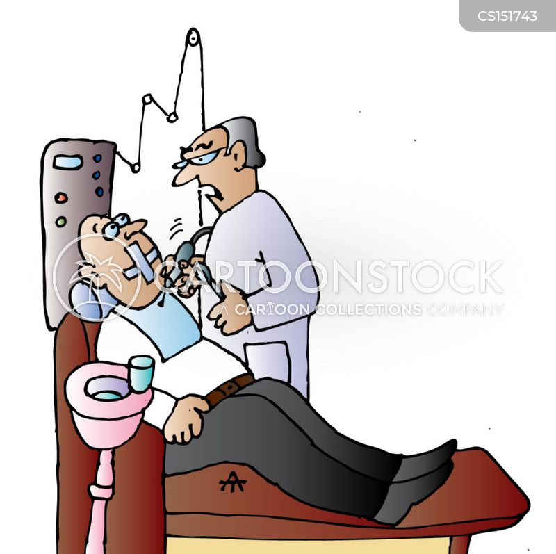 dental surgeon cartoon