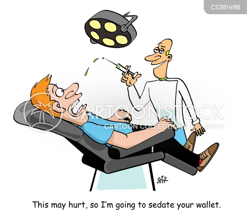 Image result for private dentist cartoon