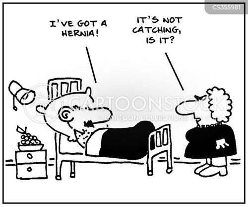 hernias cartoon
