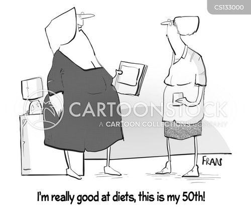 diet plan cartoon