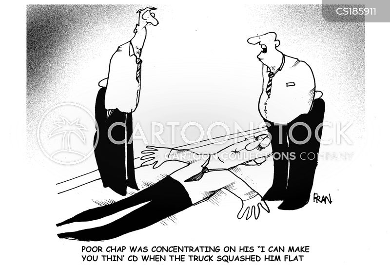 slimming aids cartoon