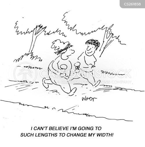 widths cartoon