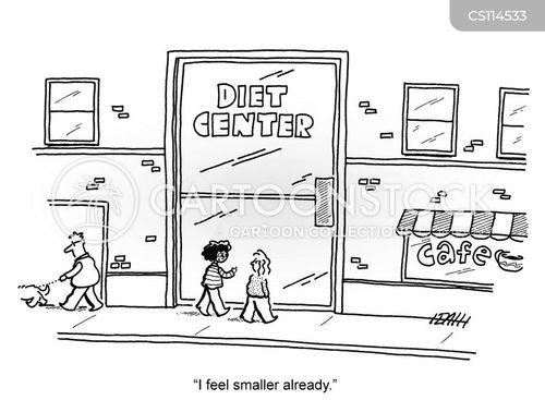 diet centers cartoon