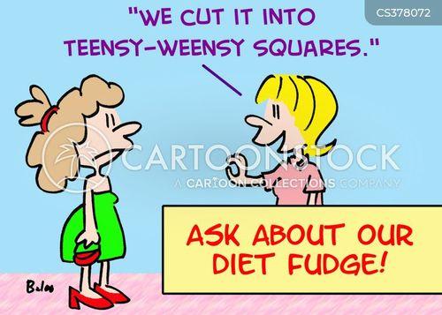diet fudge cartoon