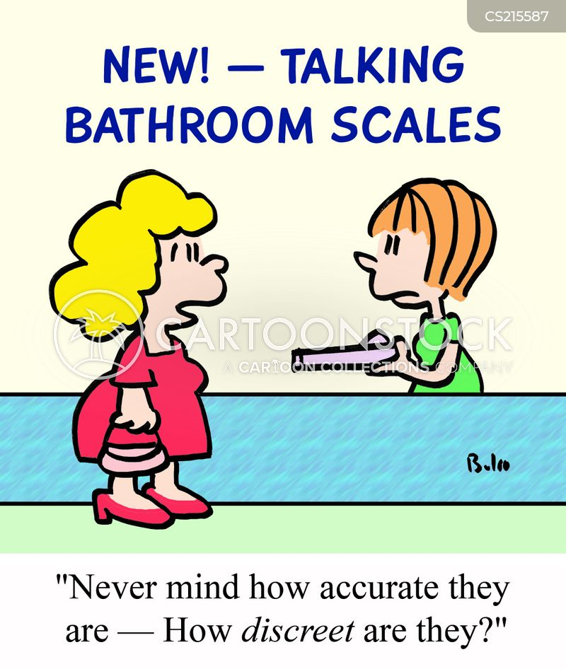 Talking Scale Cartoon 2 Of 8