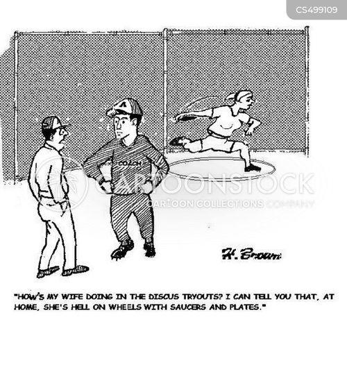 discuses cartoon