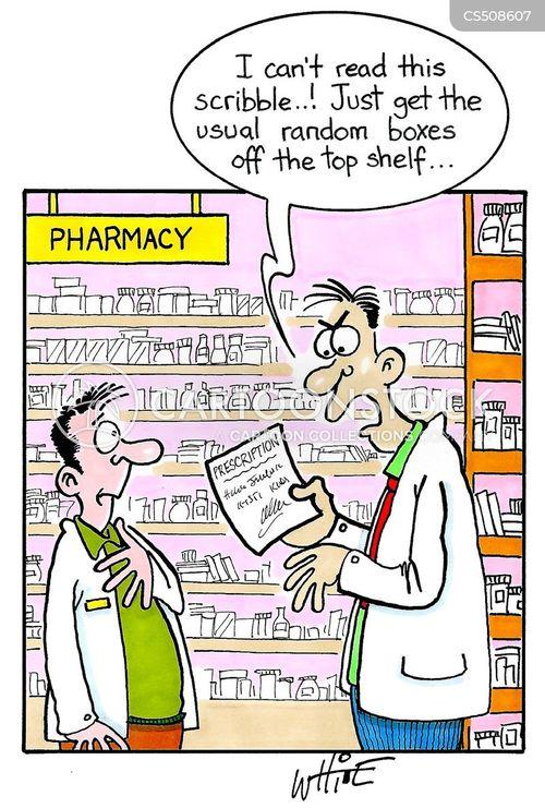 dispensary cartoon