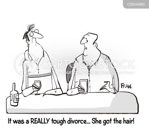 spousal support cartoon