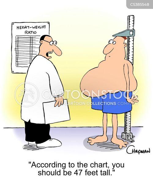 measured cartoon