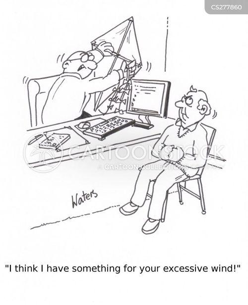 bad wind cartoon