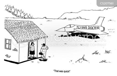 air ambulance cartoon