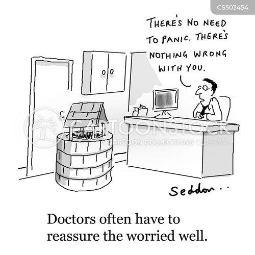 feeling unwell cartoon