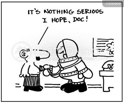 contagious disease cartoon