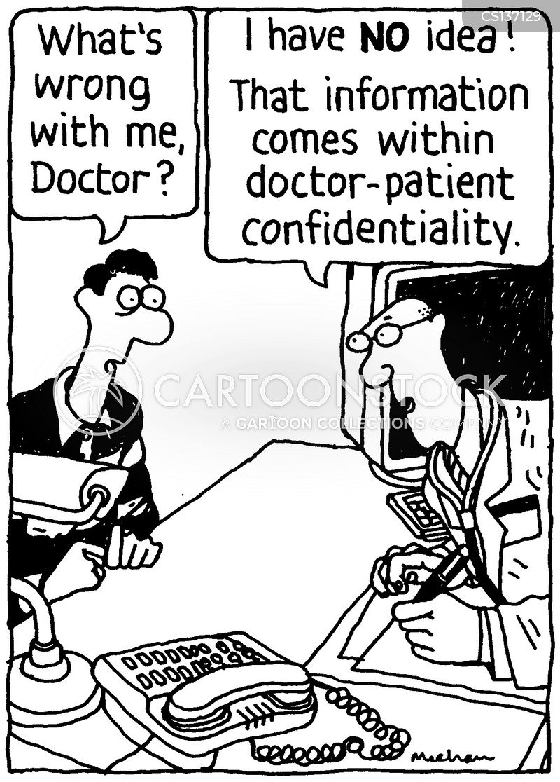 Confidentiality Cartoons And Comics  Funny Pictures From Cartoonstock