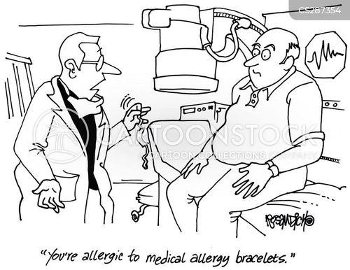 medical check-up cartoon