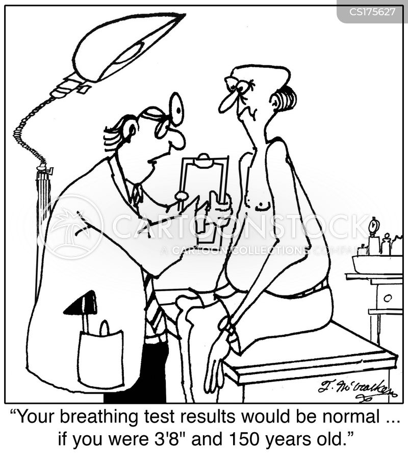 asthmatic cartoon