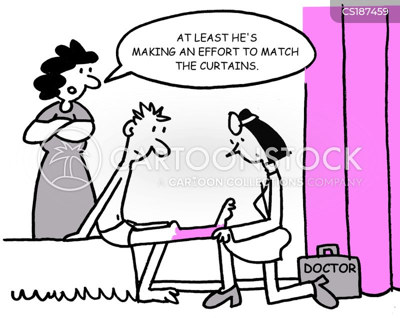 dermatologists cartoon