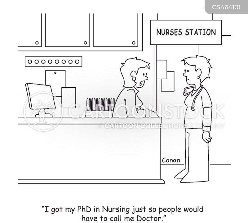 nursing degree cartoon