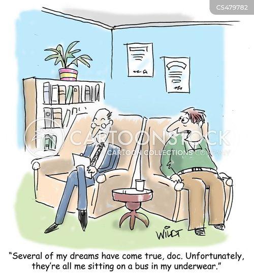 recurring dreams cartoon