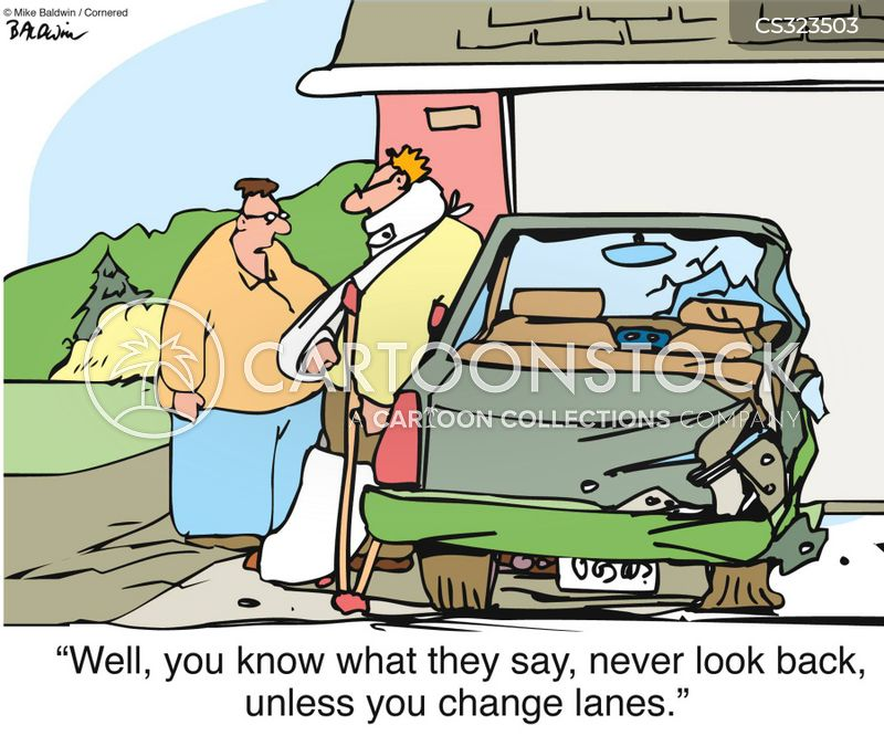 driving safety cartoon
