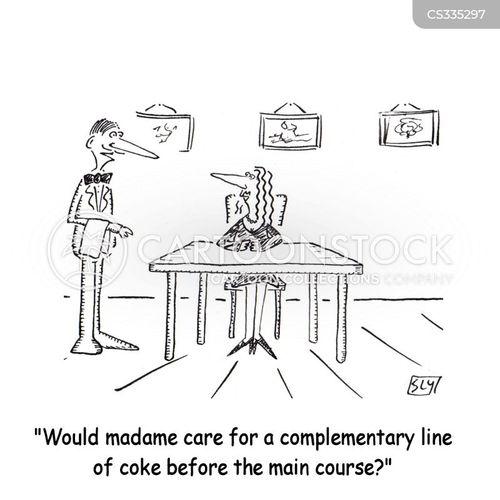 drug taking cartoon