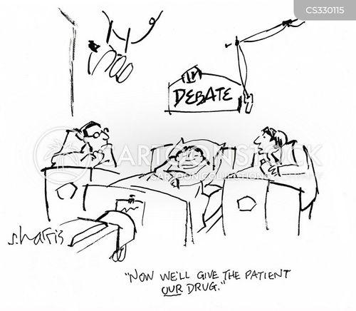 drug trials cartoon