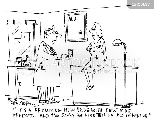 new drugs cartoon