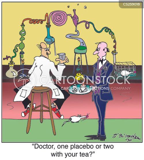 drug research cartoon