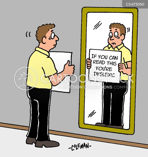 dyslectic cartoon
