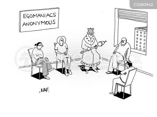 egomaniacs cartoon