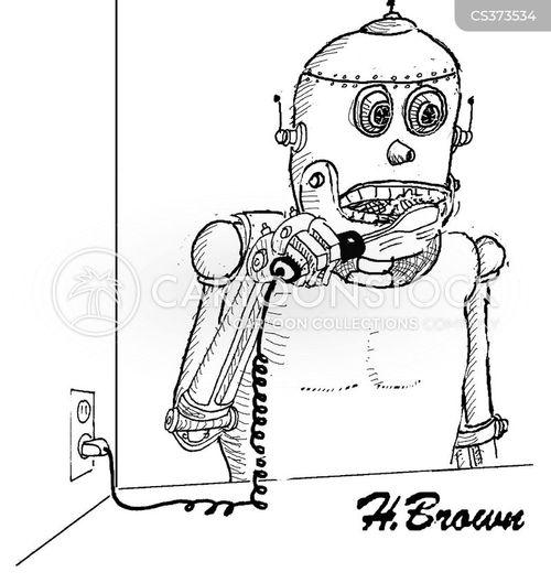 electronic toothbrushes cartoon